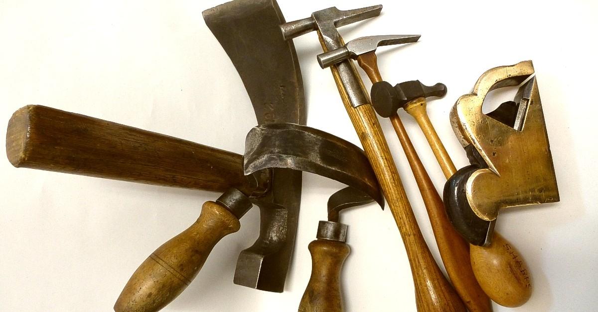 Vintage-tools-hammer-plane